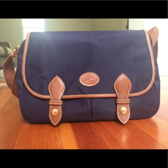Longchamp le pliage nylon messenger bag